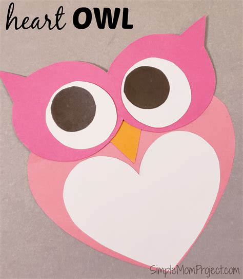 s day card templates for preschoolers simple handmade s day owl card with free