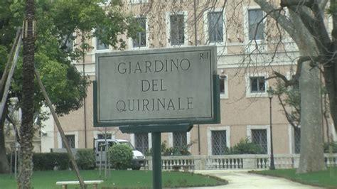 Ingresso Giardini Quirinale - riaprono i giardini quirinale il verde presidenziale