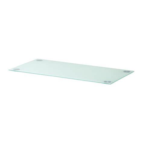 plateau bureau verre ikea glasholm plateau verre blanc ikea