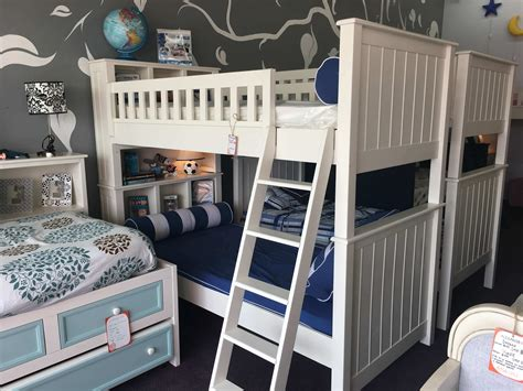 campground bookcase bunk bed kids furniture  los angeles