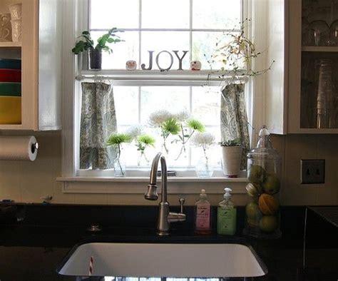 cafe curtains   kitchen sink  milagros kitchen