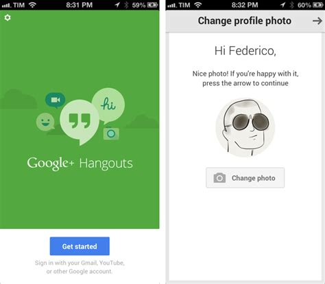 hangouts app iphone launches hangouts messaging service for ios