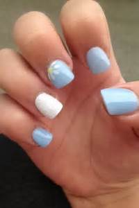 Acrylic nails summer collection nail and