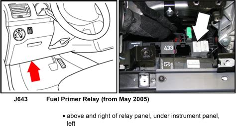 Beetle Relay Panel Diagram Parts Wiring Images
