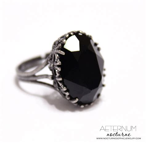 gothic wedding ring alternative engagement ring