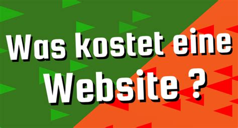domain webhosting design was kostet eine website