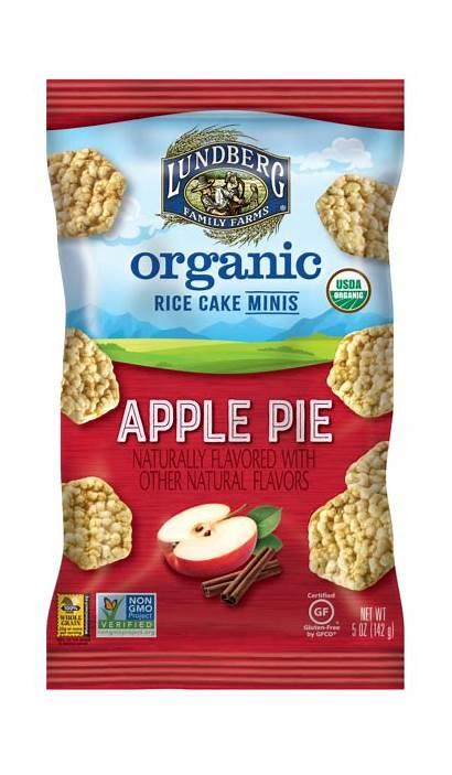 Minis Rice Apple Flavored Pie Organic Cake