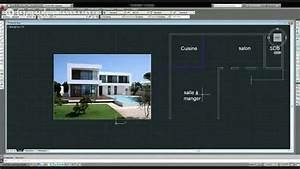 modelisation en 3d d39une maison moderne en direct avec With plan maison moderne 3d 1 plan maison moderne en t ooreka