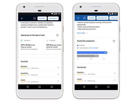 neue funktionen fuer google  jobs job ambition gmbh