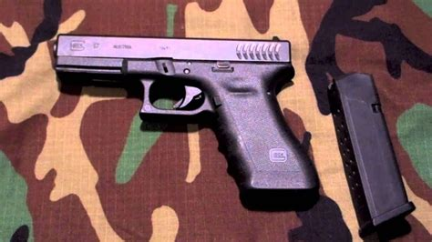 glock  rtf full size mm pistol overview  shots youtube