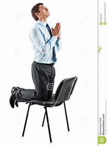 Young Business Man On His Knees Praying Stock Images ...