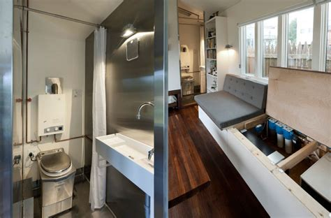 Fresh Tiny House Bathrooms by 210 Sq Ft Minim House Shelters Sweet Space Saving Interior