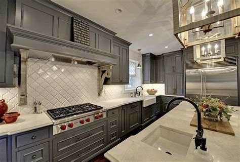 images of grey kitchen cabinets best 25 arabesque tile ideas on arabesque 7488
