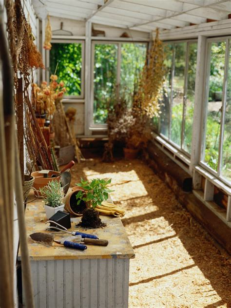 Greenhouse Flooring, Heating And Staging Hgtv