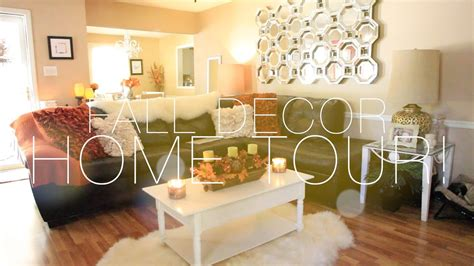 Decor Home by Fall Decor Home Tour Nitraab
