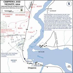 Battle of Lundys Lane in the War of 1812