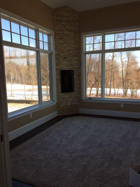 beatiful pella proline casement windows  picture window  large sdl transoms  supplied