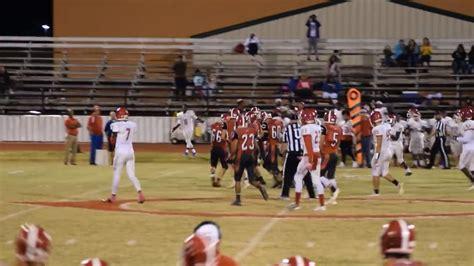 comanche senior scores special touchdown  senior night