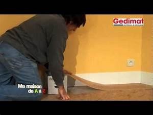 Comment Nettoyer Sol Lino Incrusté : poser un sol souple gedimat ma maison de a z youtube ~ Melissatoandfro.com Idées de Décoration
