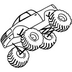 monster truck coloring page monster truck coloring pages easy - Monster Truck Coloring Pages Easy