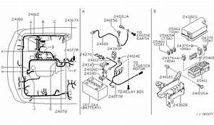 1998 Nissan Frontier Cooling System Parts Diagram