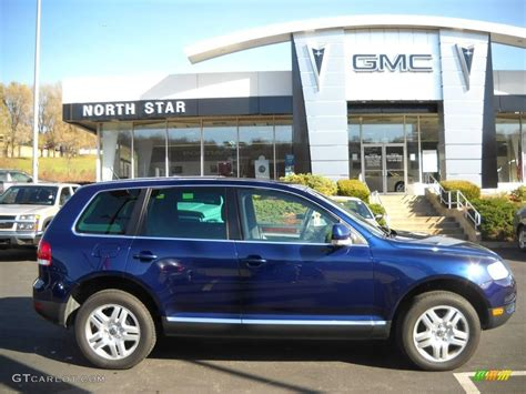 volkswagen touareg blue 2006 shadow blue metallic volkswagen touareg v8 21701918