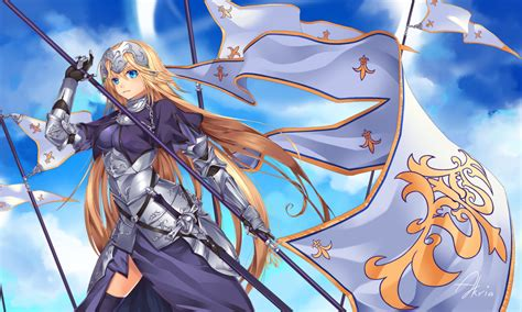 fate series upcoming anime wallpaper of the week jeanne d arc 2 randomness thing