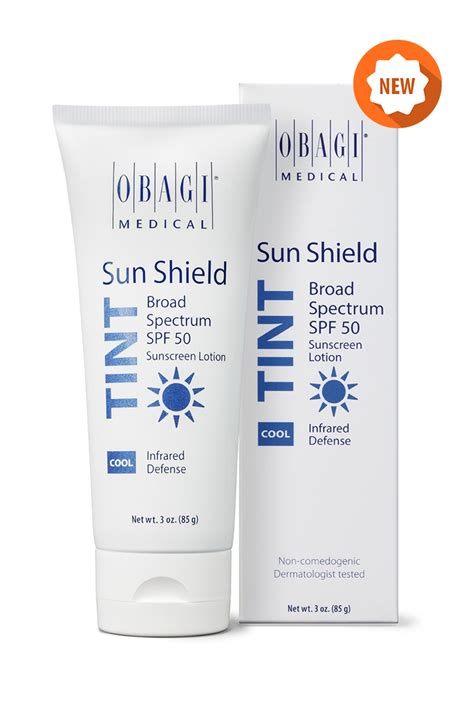 New Skin Health  Obagi Sun Shield Tint Spf 50 Cool