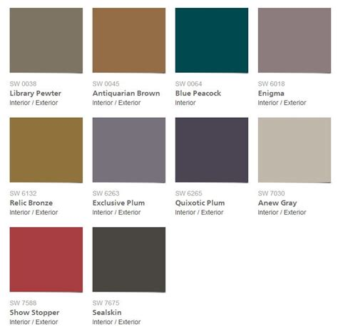 41 best images about sherwin williams color of the year