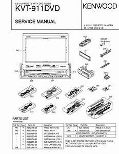 Kenwood Kvt 617dvd Wiring Diagram