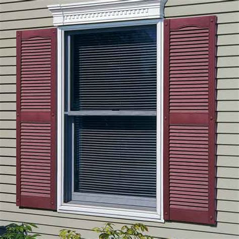 Legends Louvered Vinyl Shutters