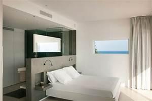 Chambre avec dressing et salle de bain en 55 idees for Salle de bain design avec magasin de décoration de chambre