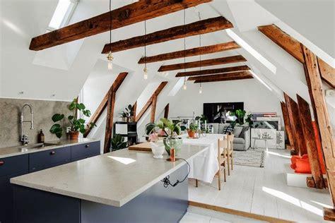 idee deco cuisine vintage plafond poutre apparente pour créer un intérieur de charme