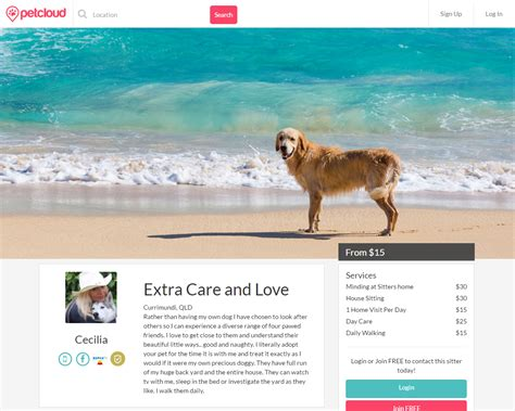 examples pet sitter care humble listings awesome petcloud cecilia stunningly could inside know