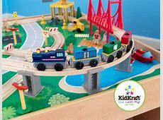 KidKraft Waterfall Mountain Train Set and Table Model Trains
