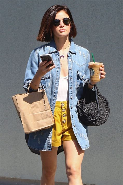 Lucy Hale | Lucy hale style, Celebrity street style ...