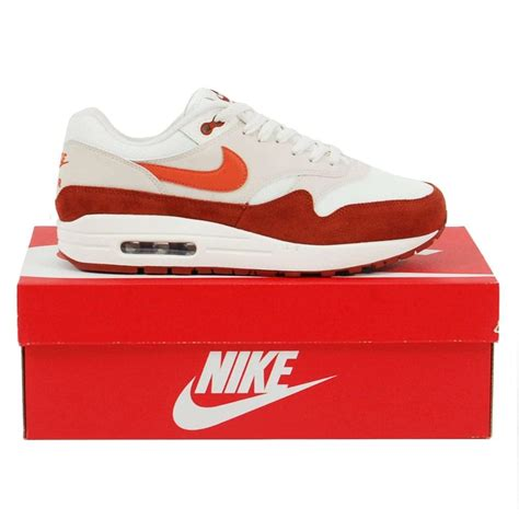 descuento nike air max 1 sail vintage coral mars 1013197 srisyqu nike air max 1 sail vintage coral mars mens clothing from attic clothing uk