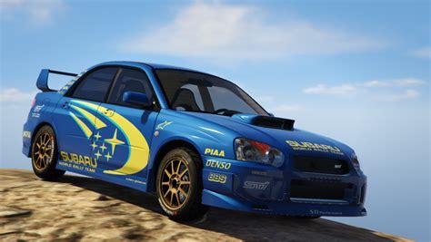 rally subaru subaru impreza wrx sti 2004 world rally team livery