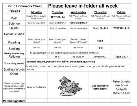 homework worksheets for 3rd grade worksheets for all
