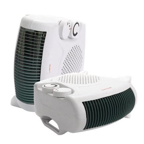 dual heater and fan dual position fan heater cooler with next working day delivery