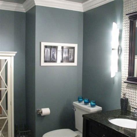 blue gray bathroom love  color paint schemes
