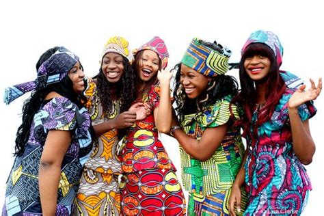 Great Picture Of Congolese Style And I Love That Two Of