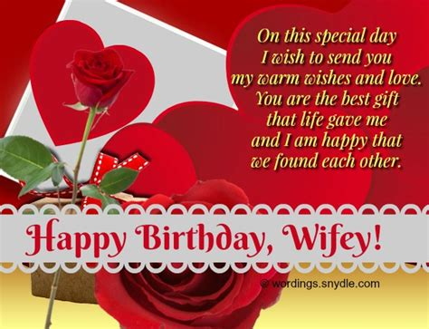 birthday wishes  messages  wife wordings  messages