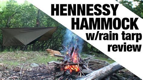Hennessy Hammock Setup by Exclusive Hennessy Hammock With Tarp Setup