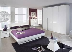 Tassilo komplettes schlafzimmer i wei hochglanz for Schlafzimmer hochglanz weiß