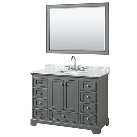 Bathroom Vanity Collections by Deborah 48 Quot Single Bathroom Vanity By Wyndham Collection