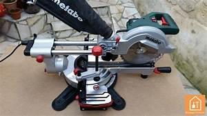 Scie Sur Table Metabo : scie onglet radiale metabo kgs 216 m test et avis ~ Dailycaller-alerts.com Idées de Décoration