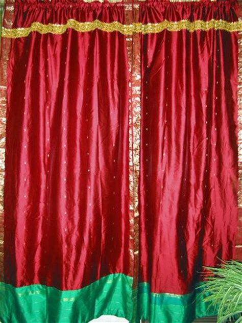 17 best images about indian sari curtain on