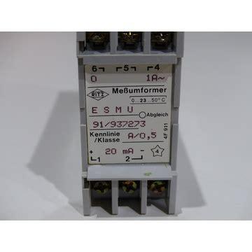 Ritz ESMU 91/937273 Meßumformer, 33.24