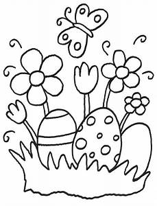 Dessin A Imprimer De Paques : coloriage imprimer jardin de p ques ~ Melissatoandfro.com Idées de Décoration